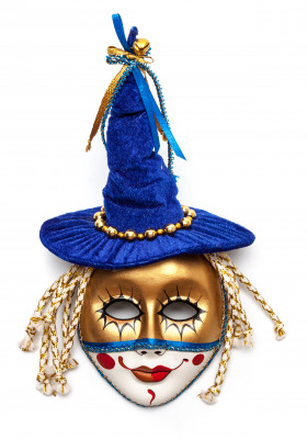 Magic Hat Porcelain Mask