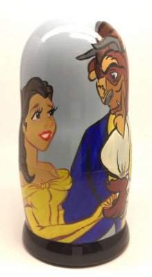 Beauty and the Beast Matryoshka Doll