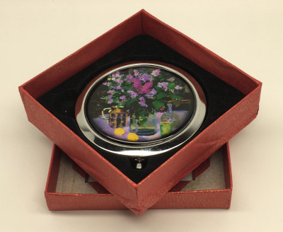 Compact Mirror with Still Life