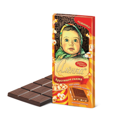 Alenka Crispy Tale Russian Milk Chocolate (100 g)