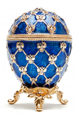 70 mm Imperial Coach and Dark Blue Imperial Coronation Music Easter Egg