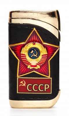 USSR Red Star Gas Metal Lighter (by Sergio Accendino)