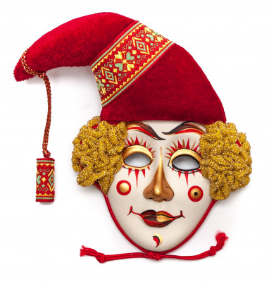 Clown Porcelain Mask