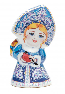 85 mm Snowmaiden Princess Ceramic Bell (by Skazka)