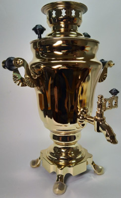 1500ml Souvenir Samovar Kettle Golden