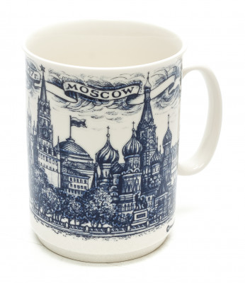 Moscow The Bolshoy Theatre Porcelain Mug