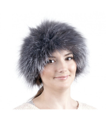 U Knitted Fox Fur Headband