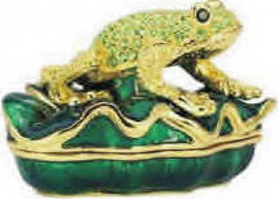 The Frog Jewellery Box Faberge