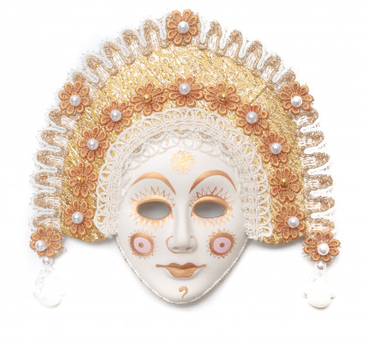 The Sun Porcelain Mask