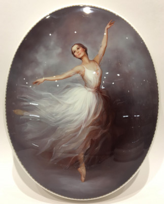 Ballerina Hand Painted Jewellery Box