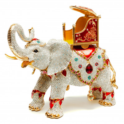200 mm Elephant Jewellery Box