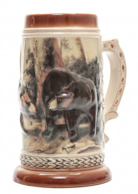 Two Bears Beer Mug
