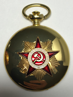 Order of the Great Patriotic War Metal Compass (by Sergio Accendino)
