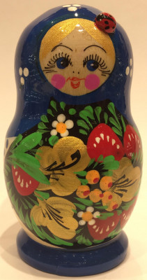 Maidan Art Hand Painted Matryoshka Doll 5 pcs