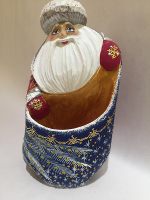 santa holder for pencils