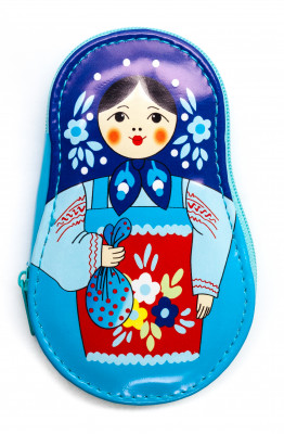Matryoshka Manicure Set Blue