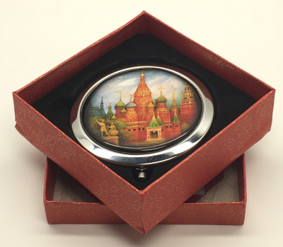Compact Mirror with St.Basil Cathedral