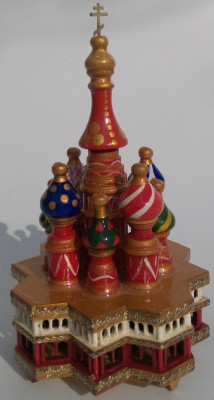 Saint Basil's Cathedral Music Box