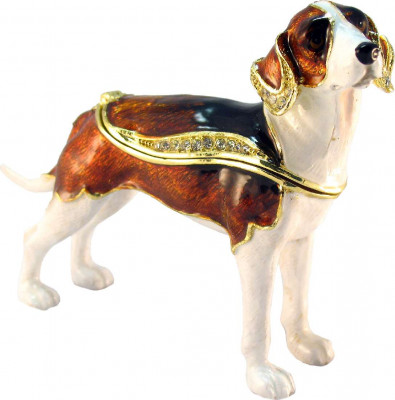 70 mm Beagle Jewellery Box