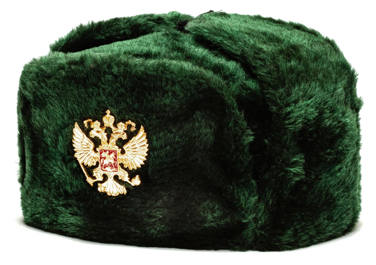 Russian Army Ushanka Winter Hat (green, any size)