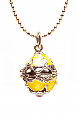 Jug Yellow Egg Pendant