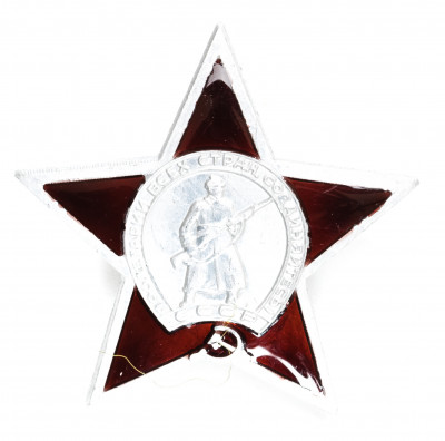 The Order of the Red Star Metal Pin