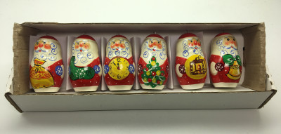 Russian Father Frost dolls Christmas Ornaments