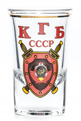 KGB Shot Glass