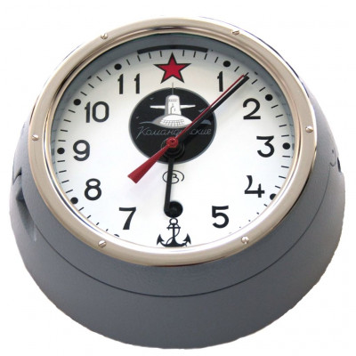 Red October Submarine Wall Clock Watch USSR Navy