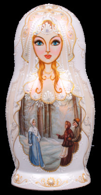 The Snow Queen Tale. Nesting doll