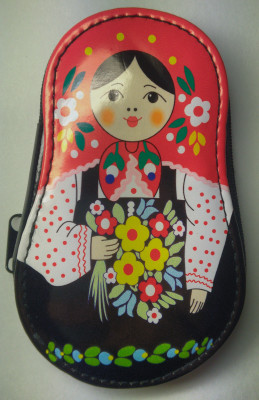 Matryoshka Manicure Set Black
