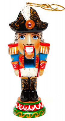 The Nutcraker hand carved and painted wooden Statue (by Andrey Crafts)