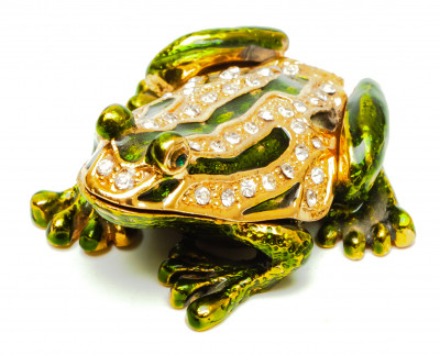 30 mm Frog Jewellery Box