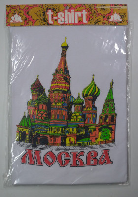 Moscow Saint Basil Church T-Shirt