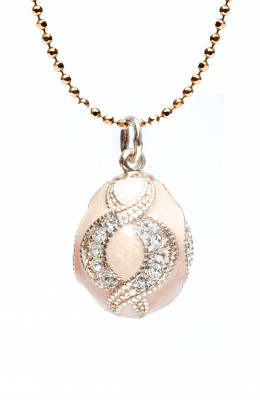 Eye Pink Egg Pendant