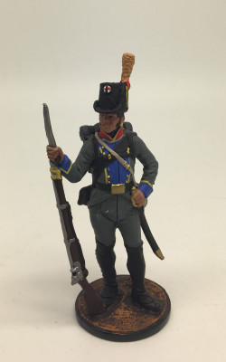 Tin Toy Soldier Hand Painted