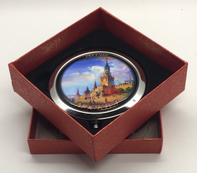 Compact Mirror with Old Kremlin