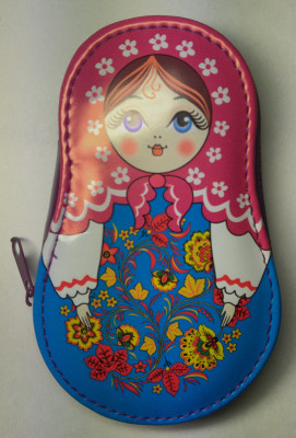 Matryoshka Manicure Set Purple