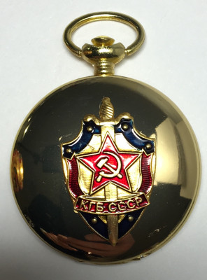 KGB of the USSR War Metal Compass (by Sergio Accendino)