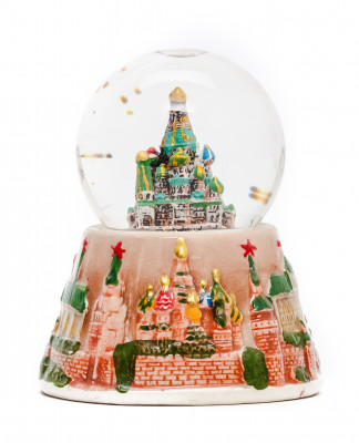 Moscow Snow Globe Small