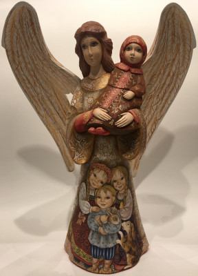 Mother Angel Figurine