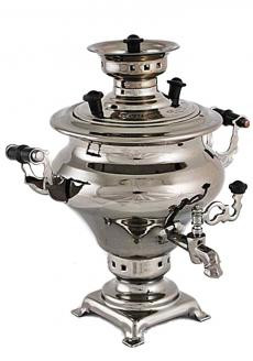 100ml Souvenir Samovar Kettle silver color