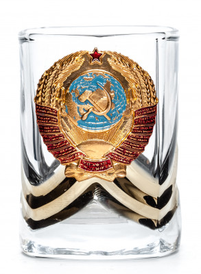 USSR Emblem Shot Glass