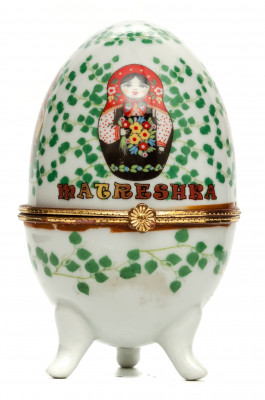 Easter Egg Box with Matryoshka