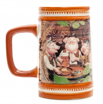 Drinking Pigs Beer Mug