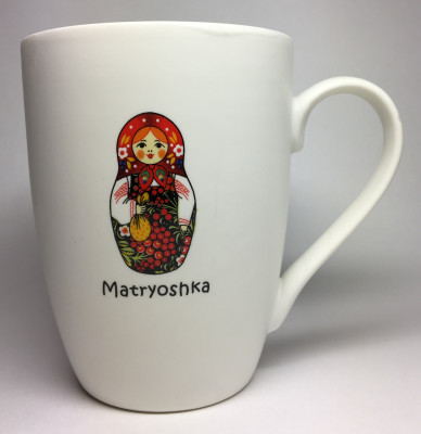 Matryoshka Ceramic Mug (by AKM Gifts)