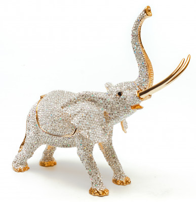 170 mm Little Elephant Jewellery Box