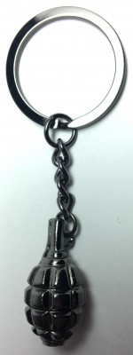 F1 grenade Metal Key Chain (by AKM Gifts)