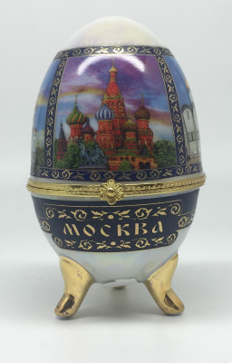 Easter Egg box with Moscow Picture