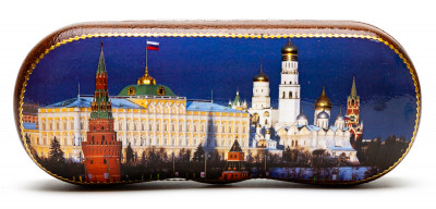 160x60mm Moscow Kremlin Eyeglass Case
